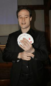 goochelaarjordi - afleiding