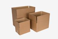 Verpakkingsmateriaal en benodigdheden om te verhuizen